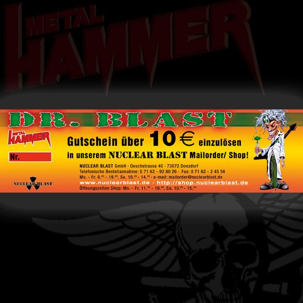 10-Euro-Gutschein: Nuclear Blast