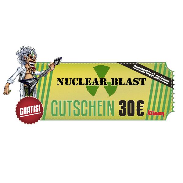 30 €-Gutschein für Nuclear Blast