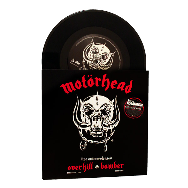 World-exclusive Motörhead 7-Inch, black vinyl - only available with METAL  HAMMER Germany 01/19